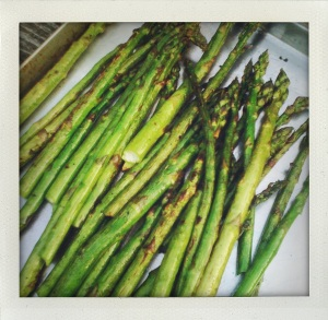 """Grilled Asparagus"""