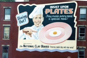 """Insist on plates billboard"""