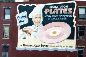 """""""Insist on plates billboard"""""""