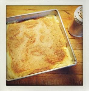 """coffeecake ready to bake"""