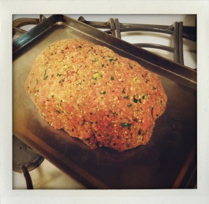 """sicilian meatloaf ready to bake"""