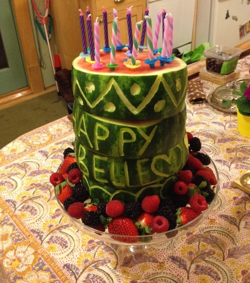 """watermelon cake"""