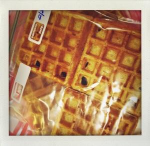 """""""frozen homemade waffles"""""""