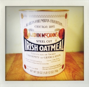 """Irish steel cut oatmeal"