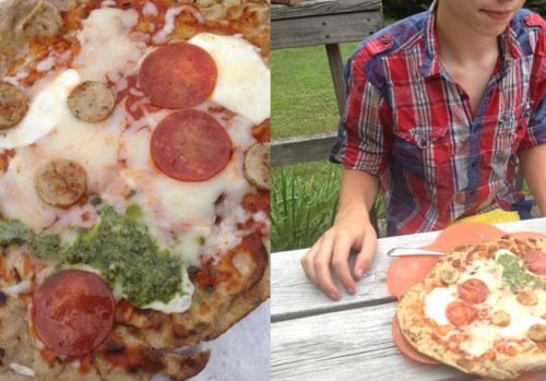 """Richard's pizza"""