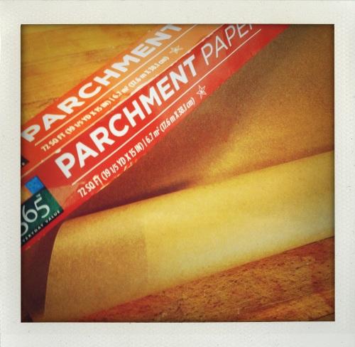 """""""parchment paper"""""""