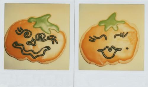 """halloween sugar cookies"""