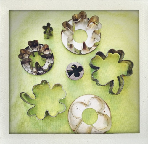 """shamrock cookie cutters"""