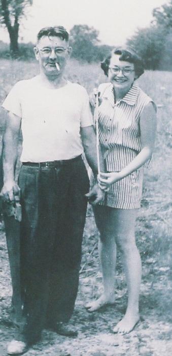 """Grandpa Tyskling and Judy"""