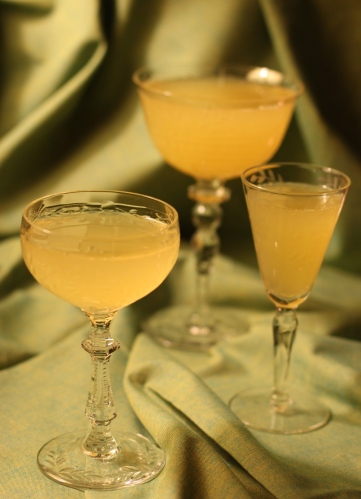 """Joe's champagne cocktails"""