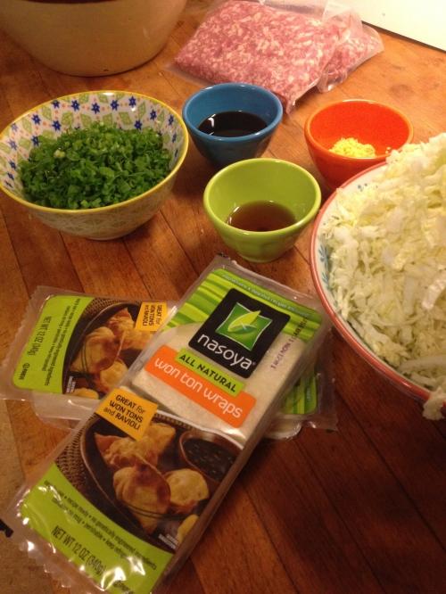 pork dumpling ingredients