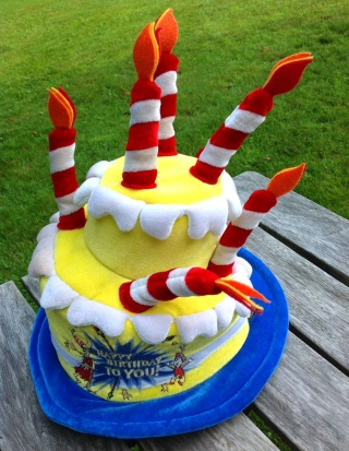 the birthday hat