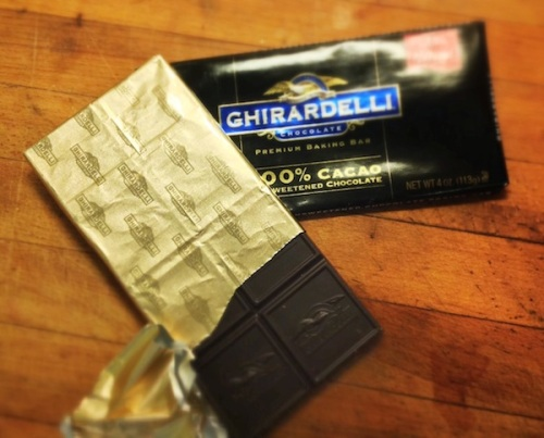 ghirardelli unsweetened chocolate
