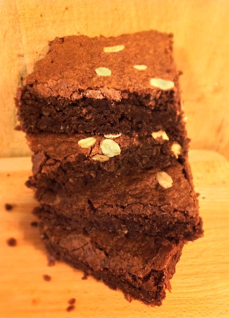 oatmeal gluten free brownies