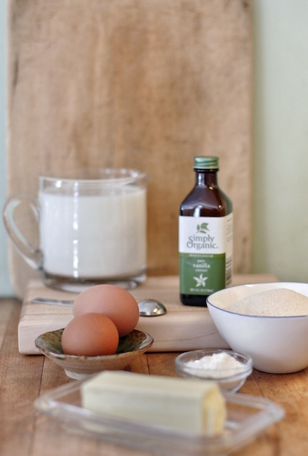 Easy to make vanilla pudding