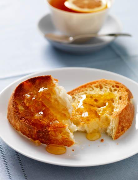 Honey & toast