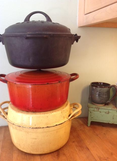 pots for no-knead bread