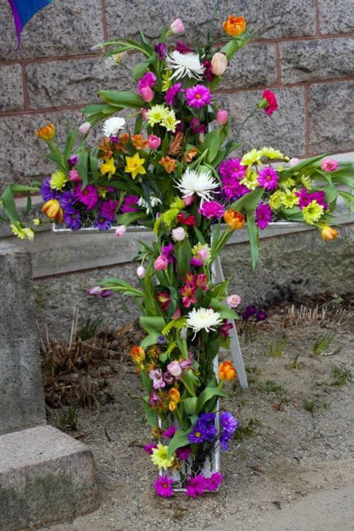 Flowering Easter Cross