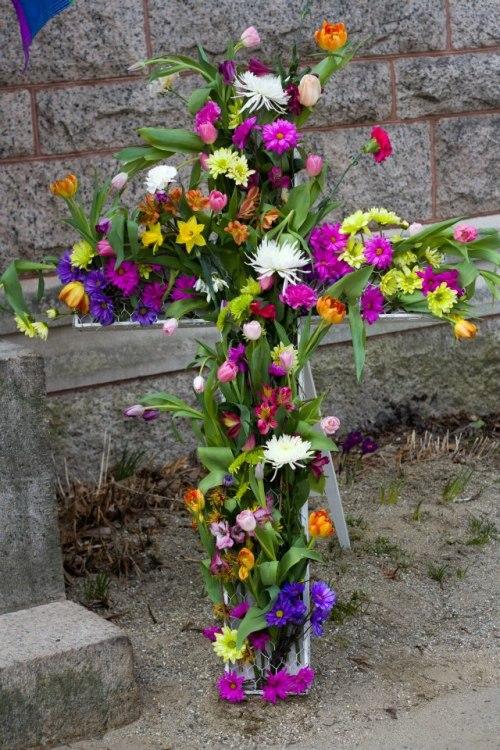 Flowering Easter Cross