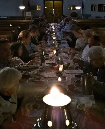 Maundy Thursday Agape Meal