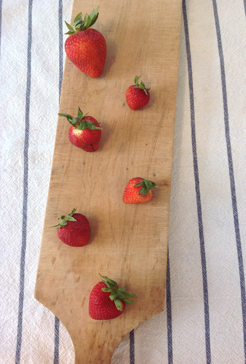 Unphotogenic Strawberries