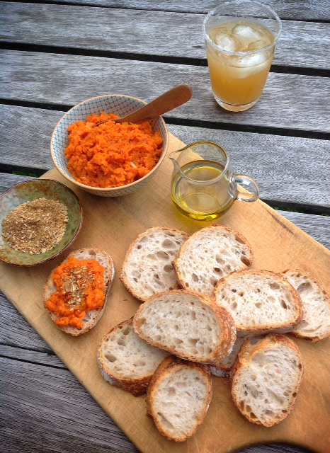 Empty Nester Moroccan Carrot Puree