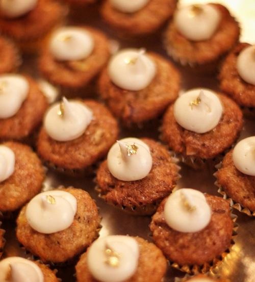24 Karat Carrot Cupcakes