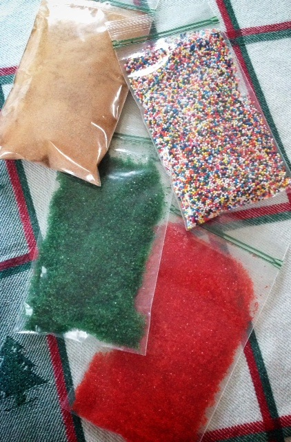 Don't forget all the bits and bobs for decorating cookies