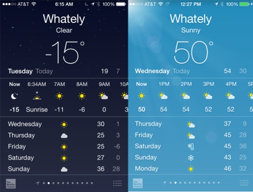 Whately Winter Weather