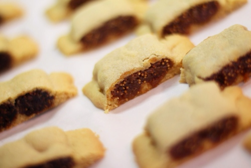 Black and White Fig Newtons with Wings