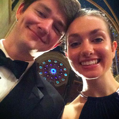 Selfie at Saint Marys