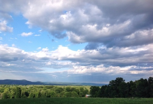Clouds over Whately