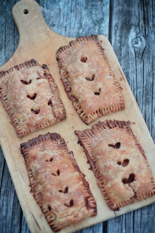 Apple Pop Tarts ready to pick up and eat