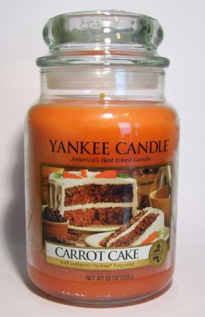 Yankee Candle Carrot Cake