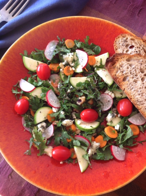 Kale salad inspired by Beets and Barley