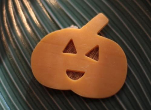 Pumpkin cheddar cheese