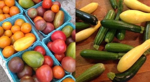 Summer Farmers Market bounty