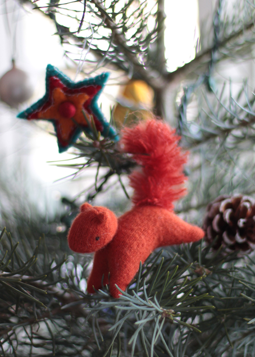 Elisabeth Radysh's little red squirrel