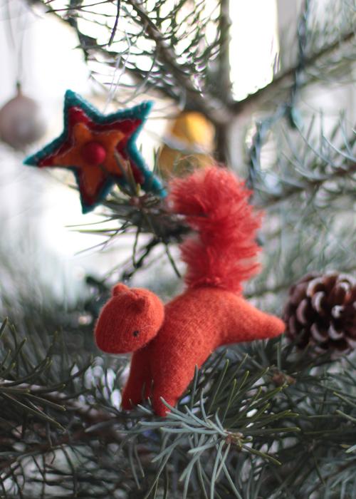 Elisabeth Radysh's little red squirrel