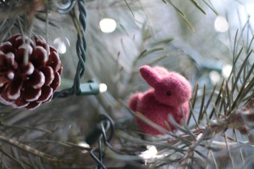 Pink bunny by Elisabeth Radysh