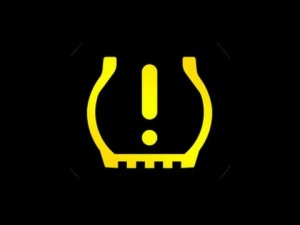 low tire pressure light