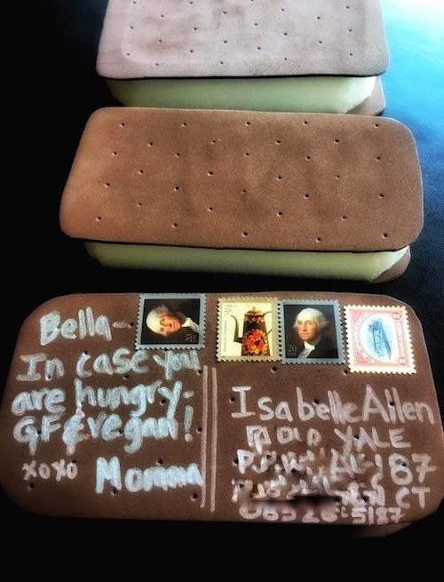Ice Cream Sandwich happy mail