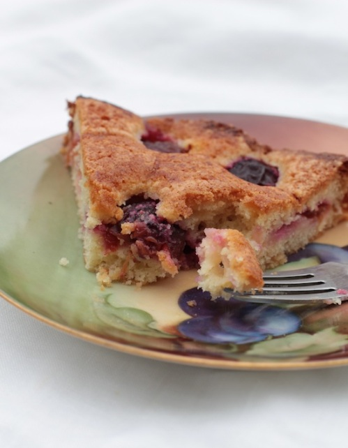 Please may I have one more slice of plum cake