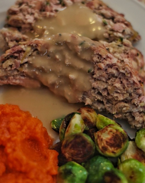 Turkey meatloaf dinner