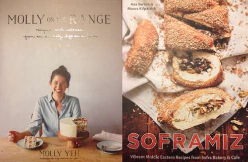 Molly on the Range and Soframiz cookbooks