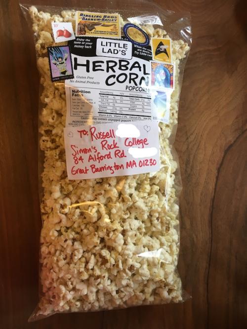 popcorn happy mail