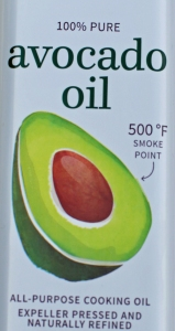 Avocodo Oil has a very high smoke point